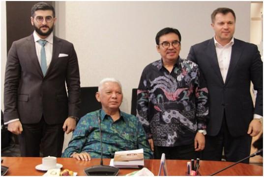 Ketua Dewan Kawasan KEK Provinsi Kalimantan Timur Gandeng Investor Rusia Bangun KEK MBTK