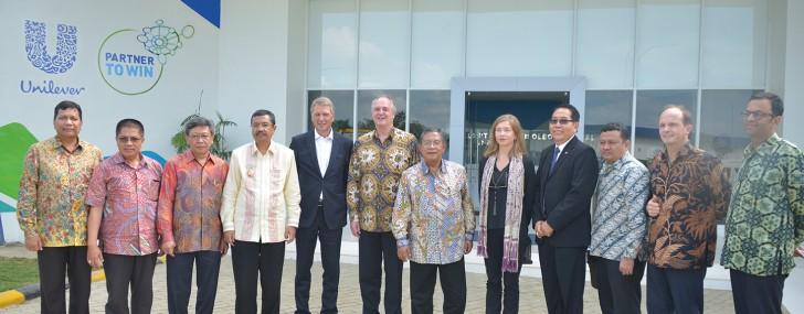 Menko Perekonomian meresmikan Pabrik PT Unilever Oleochemical Indonesia (UOI) yang berlokasi di KEK Sei Mangkei.