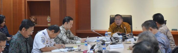 Rapat Koordinasi Perkembangan Kawasan Ekonomi Khusus Sei Mangkei