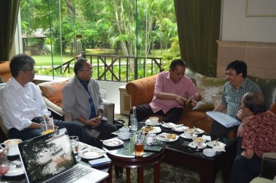 Gubernur Sulteng dan Dewan Nasional Kawasan Ekonomi Khusus Matangkan Pembahasan KEK Palu