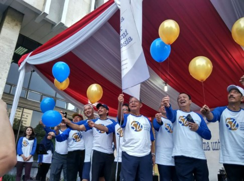 Kementerian Koordinator Bidang Perekonomian Rayakan Ulang Tahunnya yang ke-50
