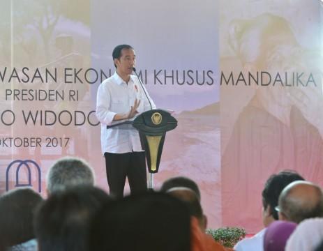 Presiden Jokowi Resmikan Operasional KEK Mandalika