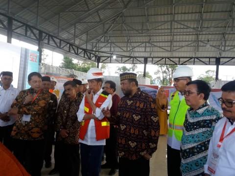 Presiden Joko Widodo Resmikan KEK Arun Lhokseumawe
