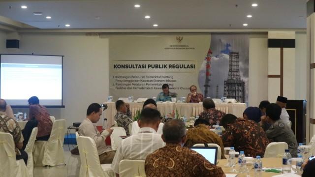 Dewan Nasional KEK Serap Aspirasi Pelaku Usaha Terkait Rancangan Perubahan Peraturan Pemerintah tentang KEK