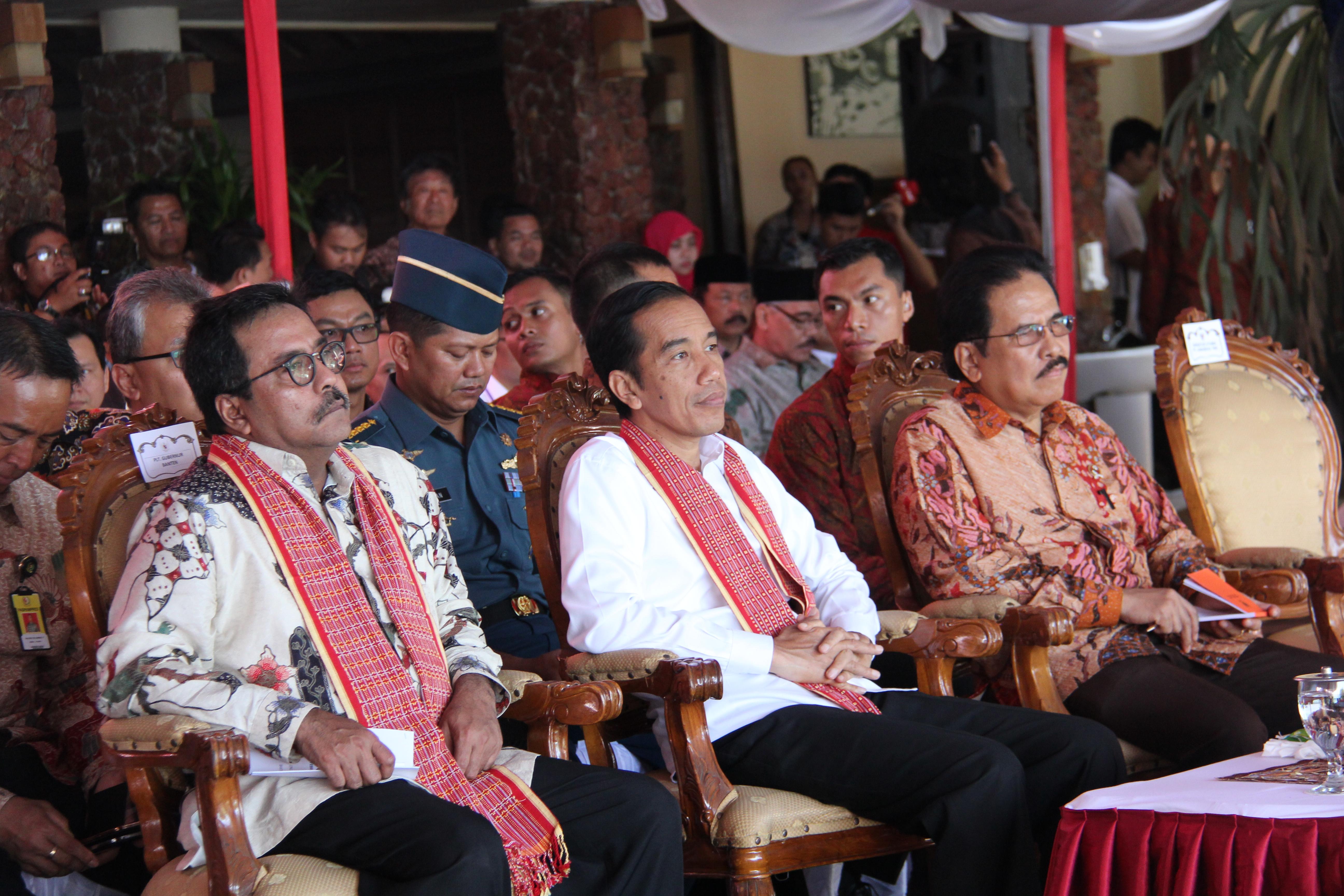 Peresmian KEK Tanjung Lesung
