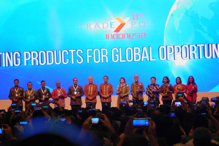 Trade Expo Indonesia (TEI) ke-33 di ICE BSD