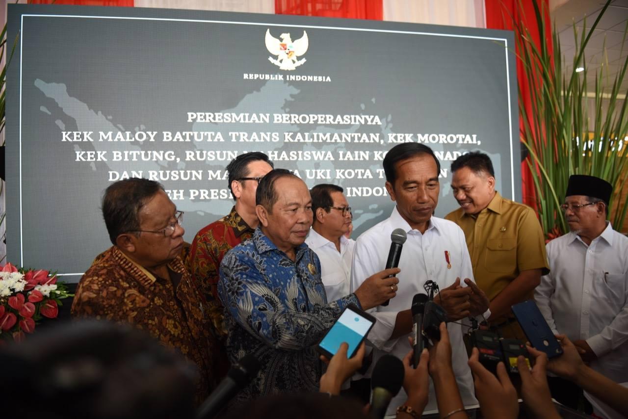 Peresmikan 3 (Tiga) KEK Kawasan Timur Indonesia