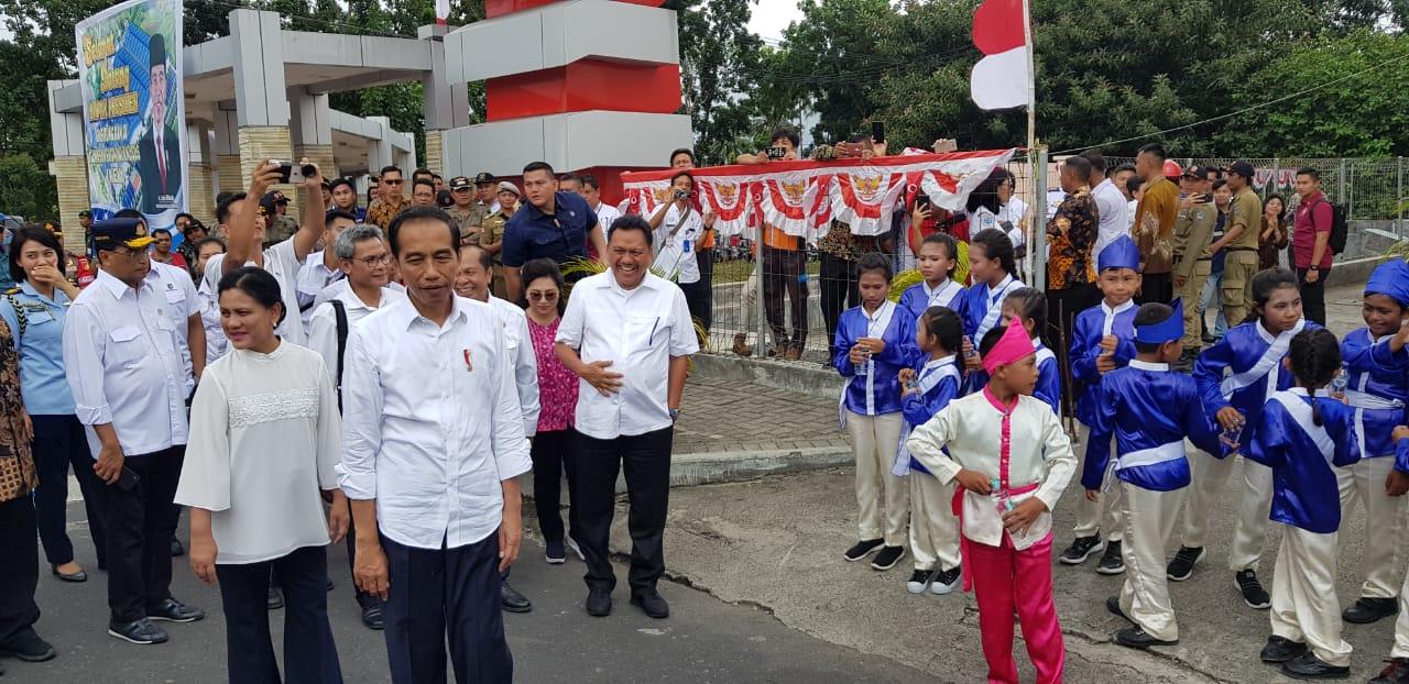 Kunjungan Presiden Republik Indonesia ke KEK Bitung