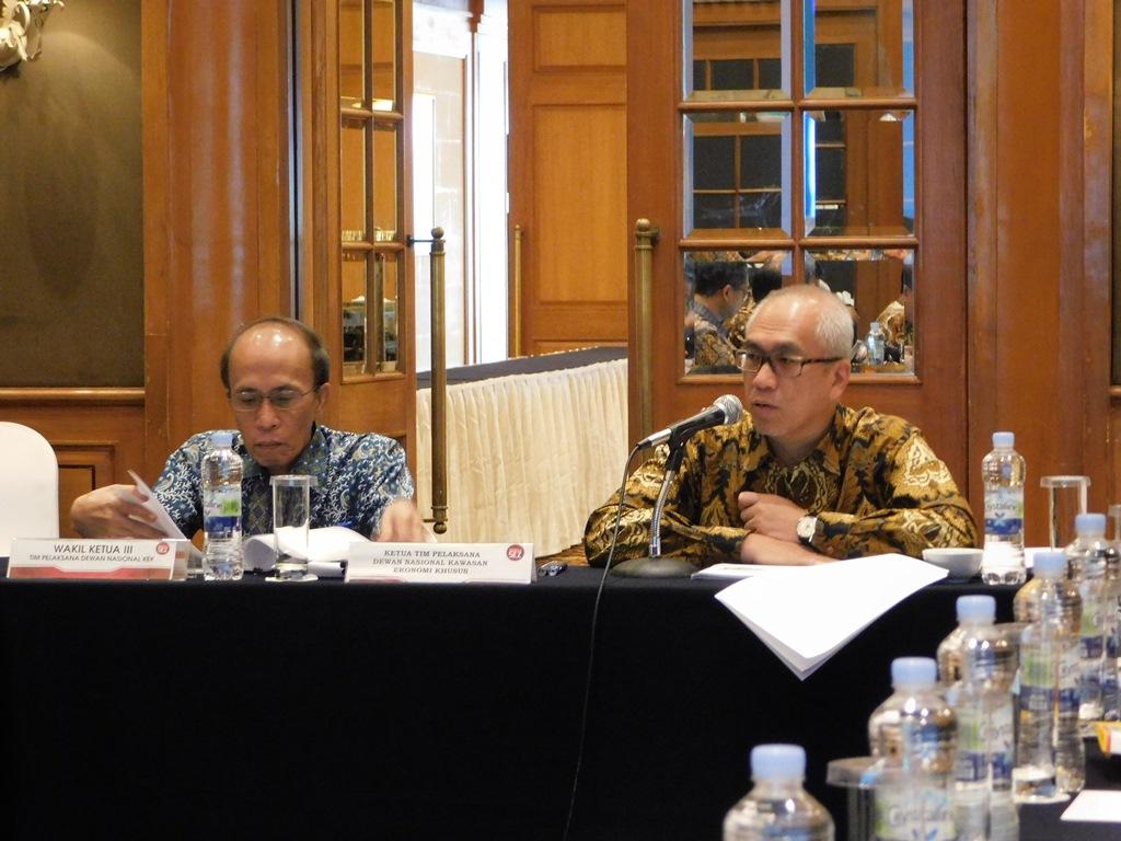 Rapat Koordinasi Perkembangan KEK Mandalika, KEK Tanjung Kelayang, KEK Galang Batang dan KEK Sei Mangkei.