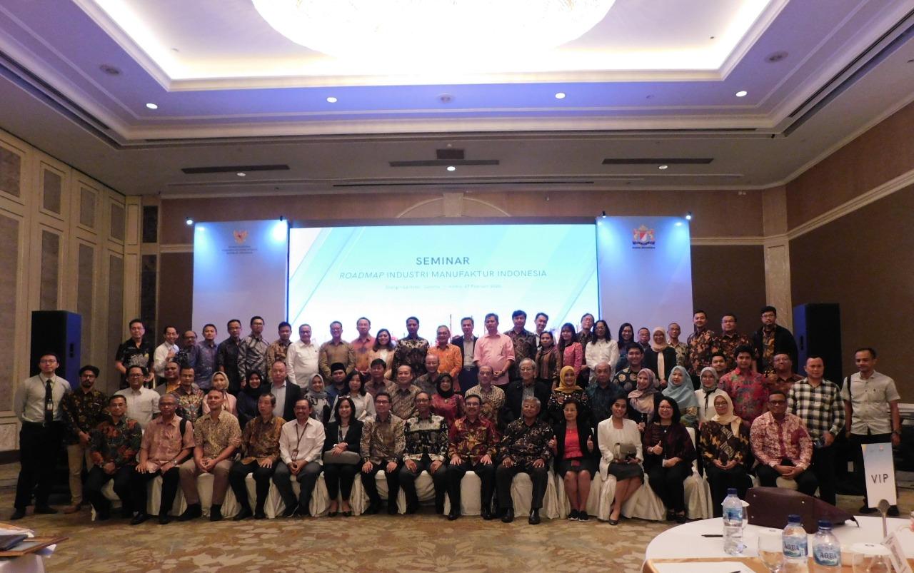 Seminar Roadmap Industri Manufaktur Indonesia di Shangri-La Hotel Jakarta